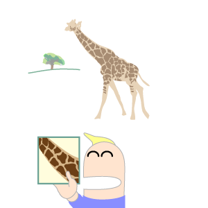 Optical Illusion clipart giraffe #3