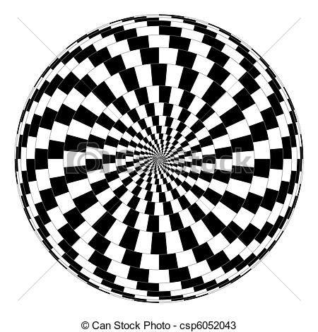 Optical Illusion clipart abstract #2