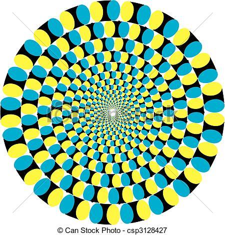 Illusion clipart graphic Illusion of Illusion  Vectors