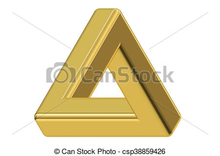 Illusion clipart impossible Impossible Art triangle illusion
