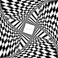 Illusion clipart kid Black Dividing Coloring Enjoy optical