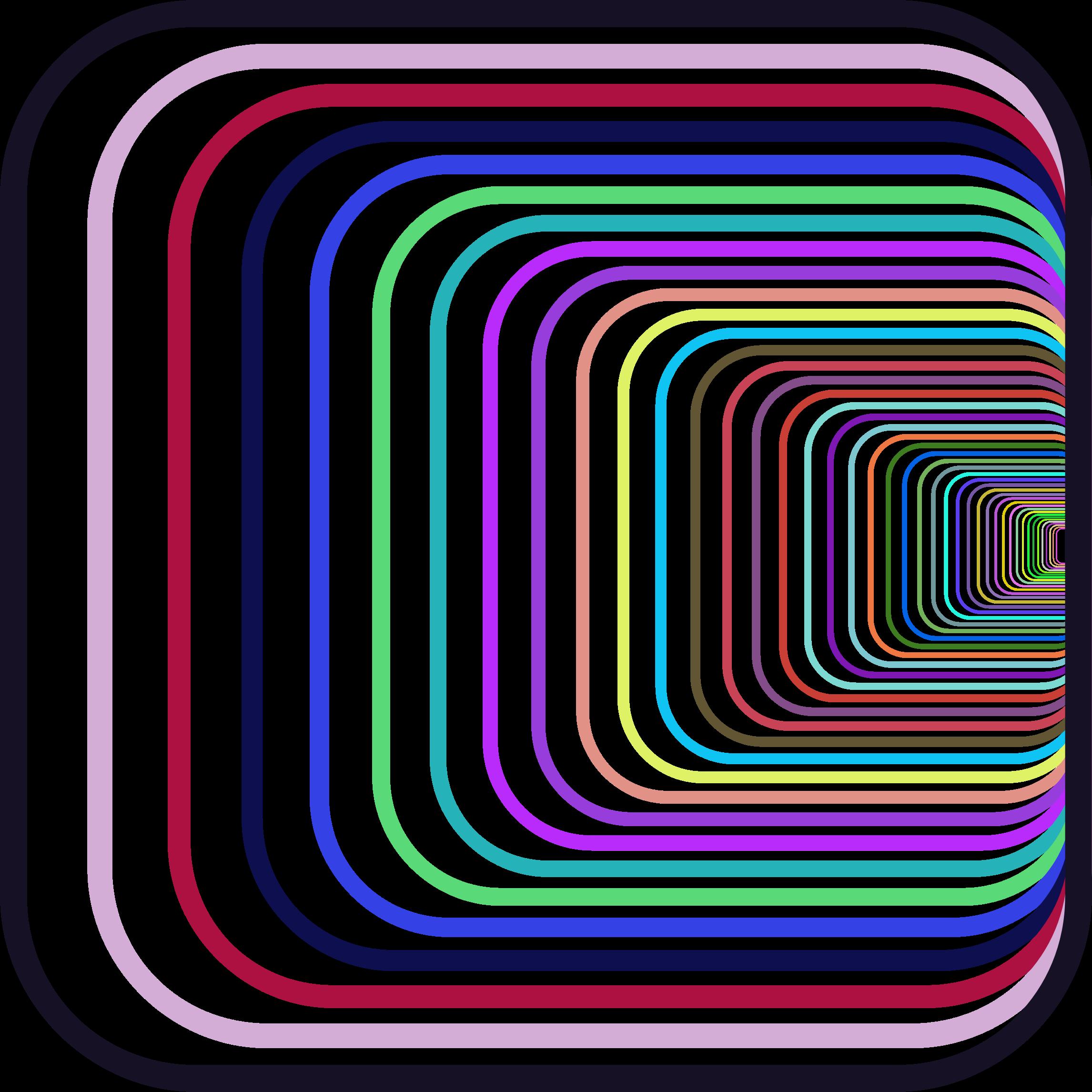 Illusion clipart line Prismatic Perspective Clipart Illusion Perspective
