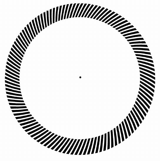 Illusion clipart line Illusion 3 Rotating Lines Figure