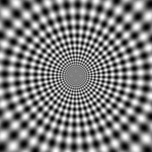 Illusion clipart line Optical Circles Illusion 2 Page