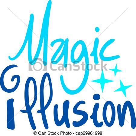 Illusion clipart magic  symbol Vector illusion magic