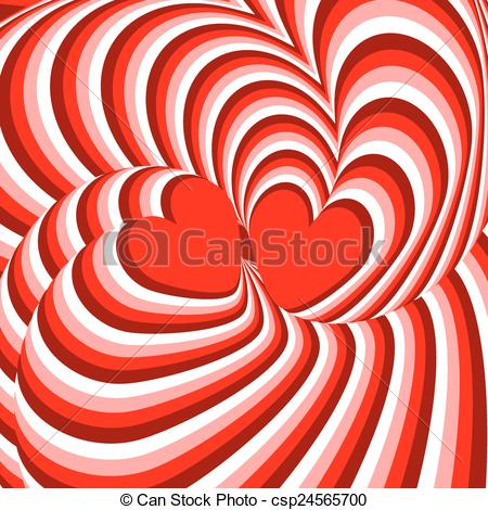 Illusion clipart number No Vector illusion of movement