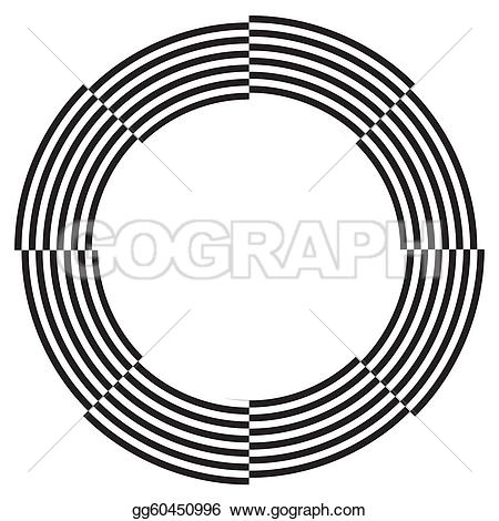 Illusion clipart number Space Clip border Spiral Clip