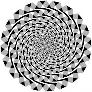 Illusion clipart number Download Illusion Spiral Fraser Art