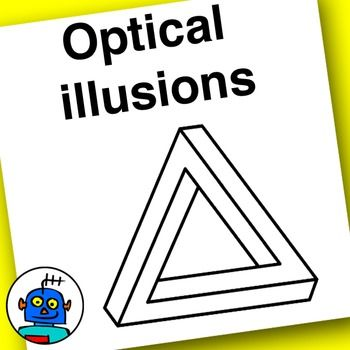 Illusion clipart obstacle Your Students illusion Included 147