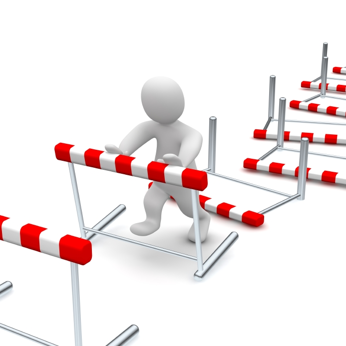 Illusion clipart obstical Obstacle Consulting Pro  Obstacle