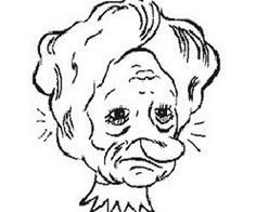 Illusion clipart old lady Old again princess this lady?