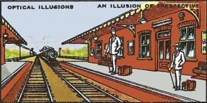 Illusion clipart optical illusion Art Illusion Optical Perspective Station