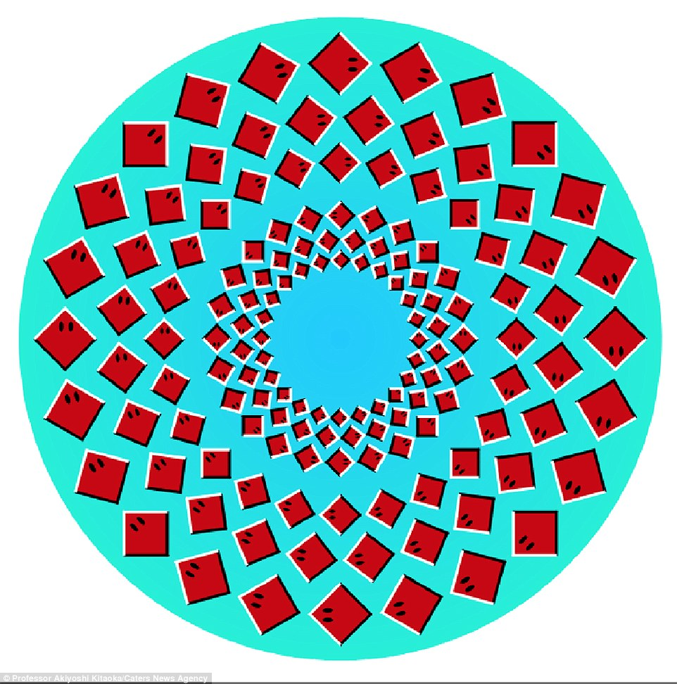 Optical Illusion clipart trippy Optical outer trippy as Rays