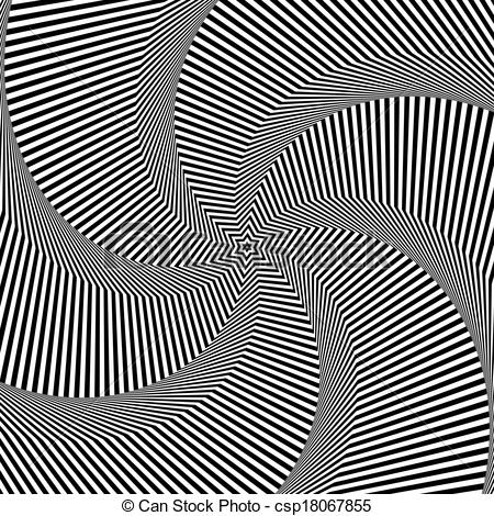 Illusion clipart rotation Abstract Clipart Rotation art of