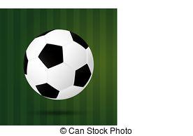 Illusion clipart soccer Illusion soccer background Vector Art