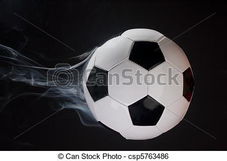 Illusion clipart soccer Ball Smoking a ball Stock