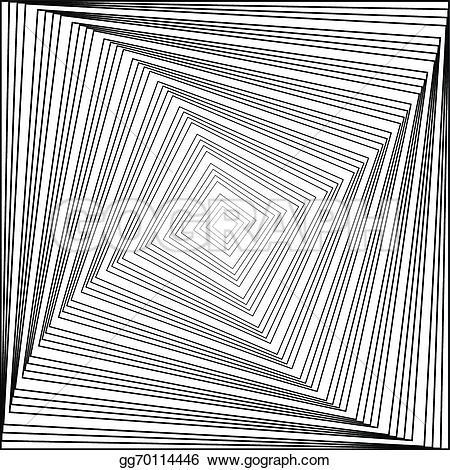 Illusion clipart square Background clipart illustration  background