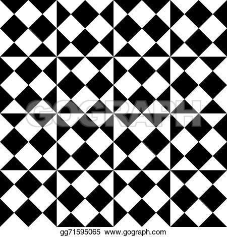 Illusion clipart square Seamless illusion Square Clipart Vector