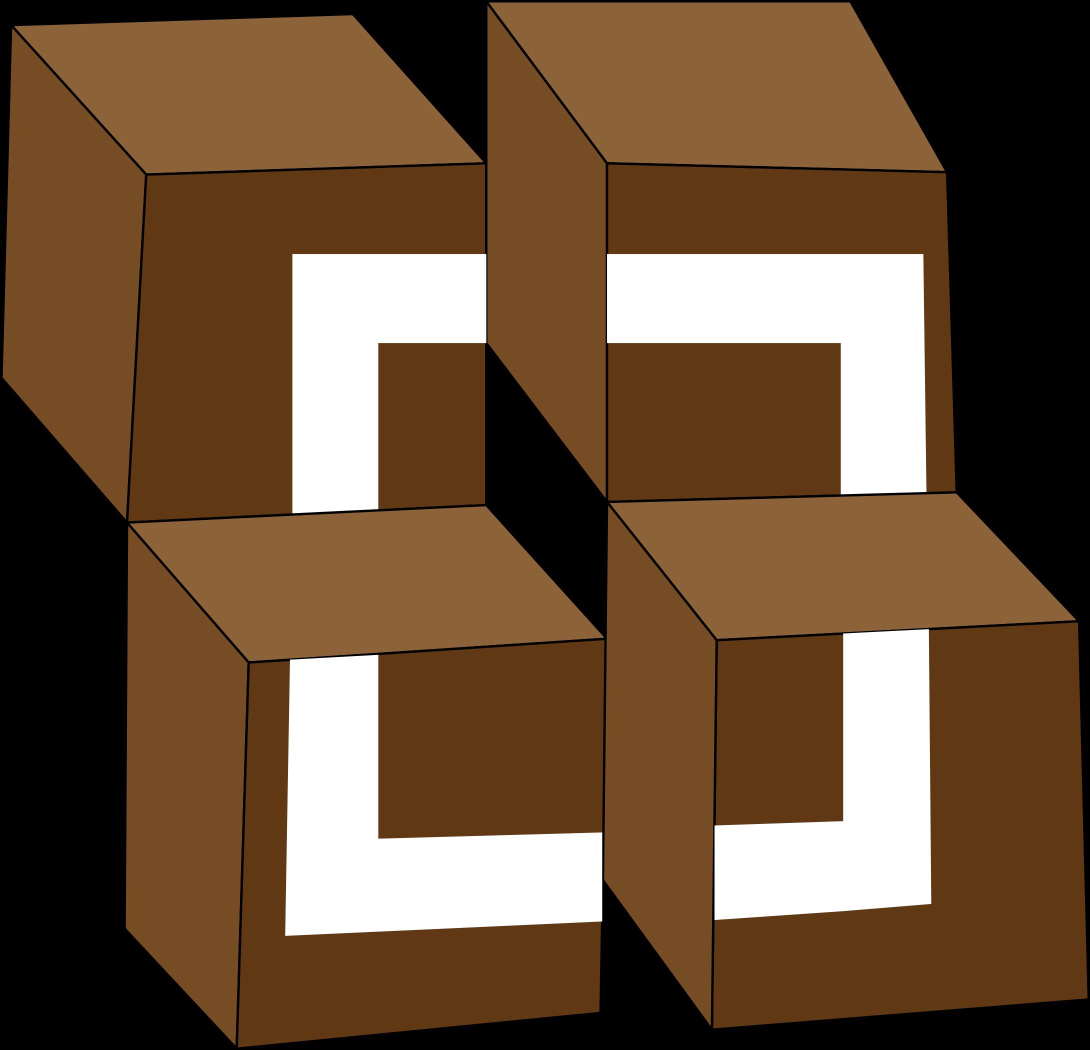 Illusion clipart square Unsquare unsquare An optical square