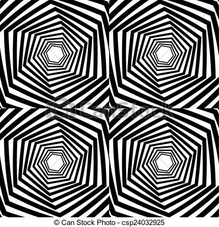 Optical Illusion clipart stripes Abstract striped csp24032925 optical