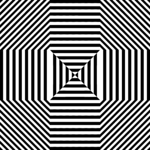 Illusion clipart stripes Vector Art Clip White Black
