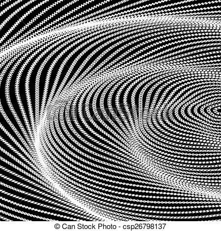 Illusion clipart swirl Monochrome movement csp26798137 of swirl
