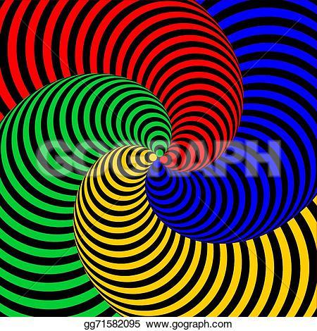 Illusion clipart swirl Strip Design backdrop movement movement