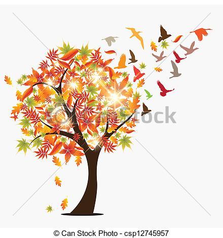 Illustration clipart autumn season  art Clip seasonal Pinterest