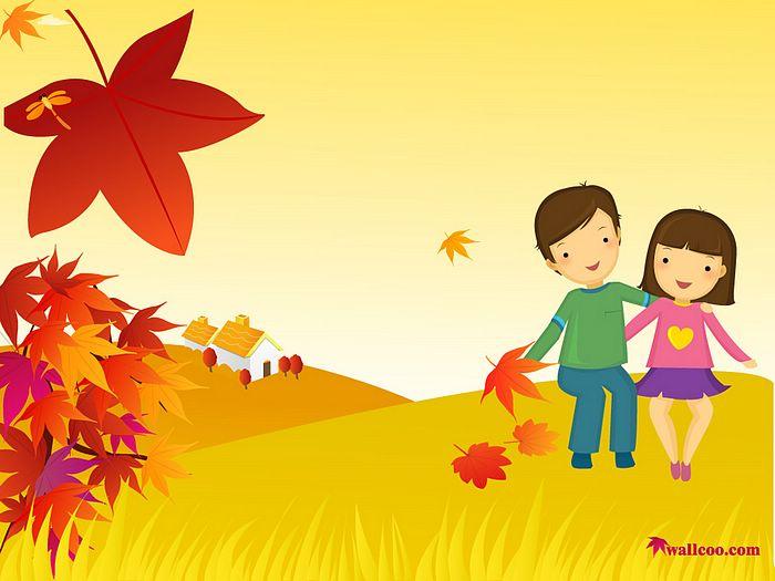 Illustration clipart autumn season Colours 5 of Icons Fall