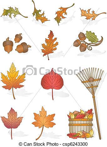 Illustration clipart autumn season Art All Leaves  Autumn