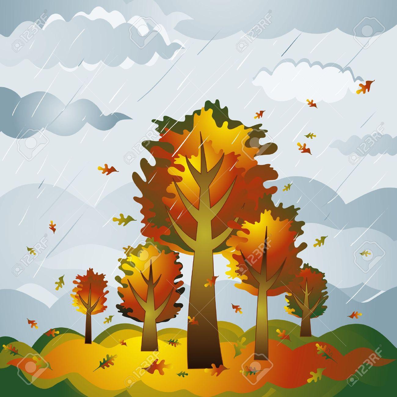 Illustration clipart autumn season Nature Autumn Clip collection day
