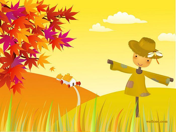 Illustration clipart autumn season Colours 1 of Icons Fall