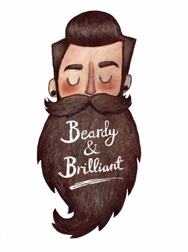 Drawn beard artistic Mustache Beardy Man ideas dark