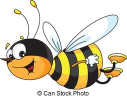 Illustration clipart bee Art 63 cheerful clip 533