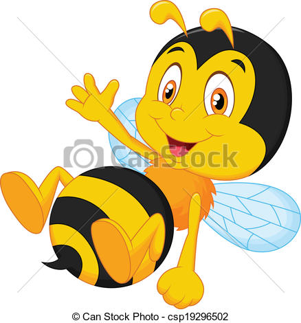 Illustration clipart bee Clipart Cute bee collection cute