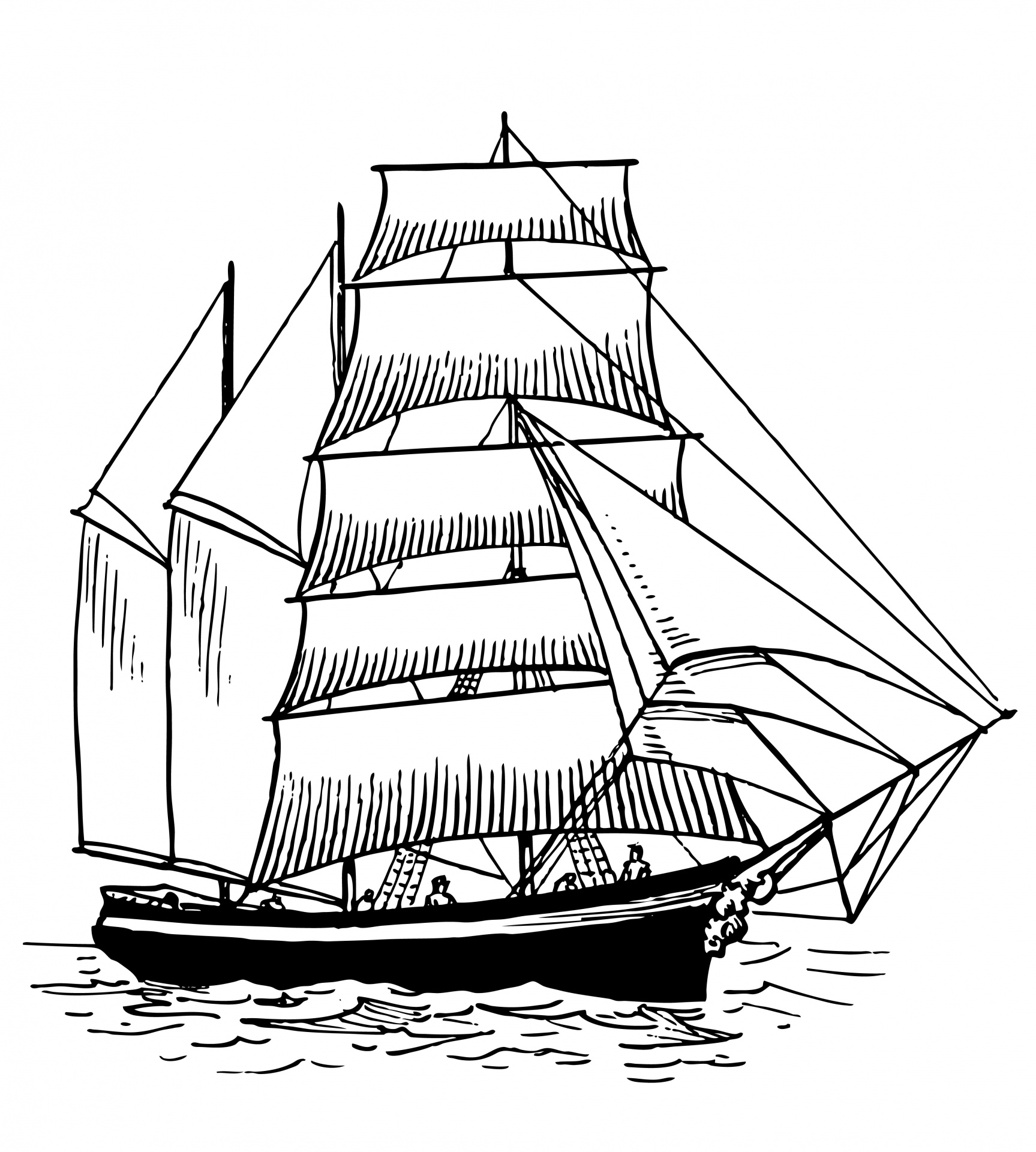 Illustration clipart boat Ship Illustration  Public Ship