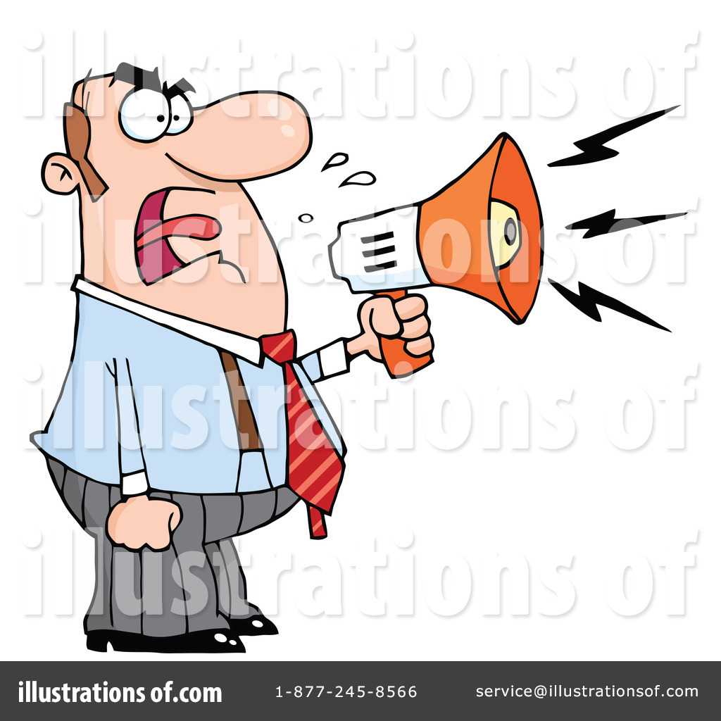 Illustration clipart boss Hit #437014 Illustration Clipart Toon