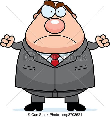 Illustration clipart boss Boss with Art boss A
