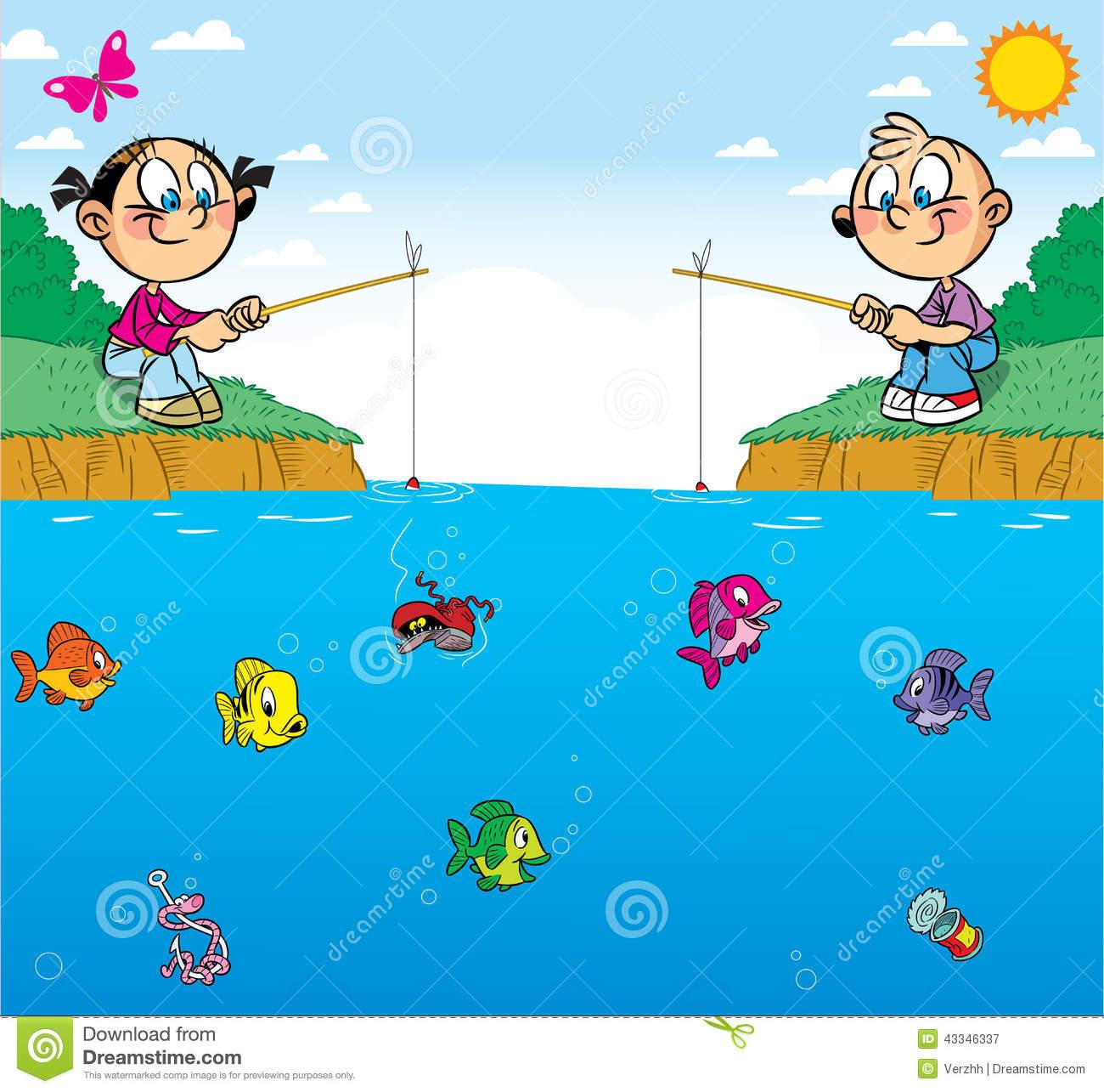 Illustration clipart boy fishing Result Cartoons cartoon boy Image