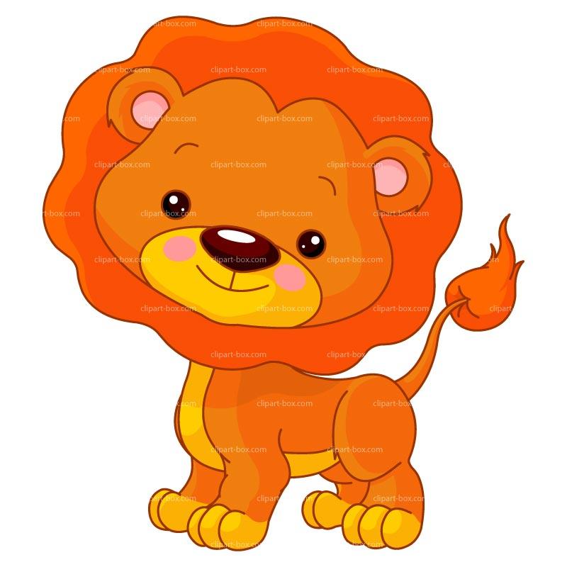 Illustration clipart cartoon lion Free vector Cartoon Woodland LION
