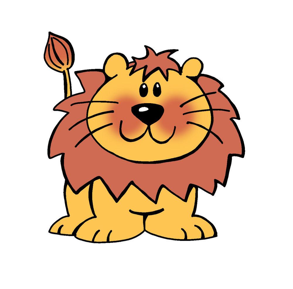 Illustration clipart cartoon lion Lion Vector Illustration Funny ClipArt