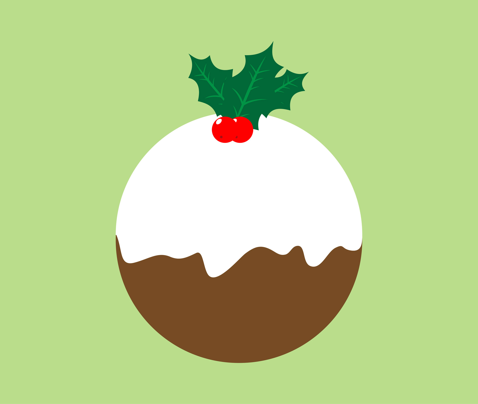 Illustration clipart christmas Stock Clipart Clipart Pudding Domain