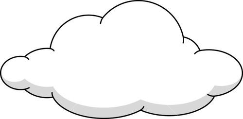 Clouds clipart cloud shape Shape Stock Image Cloud Cloud