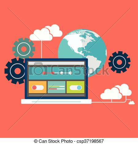 Illustration clipart cloud storage Cloud illustration  cloud storage