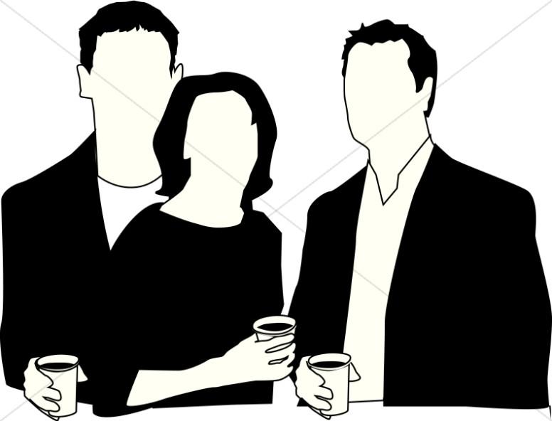 Coffee clipart coffee meeting Members Hour Meeting Meeting Hour