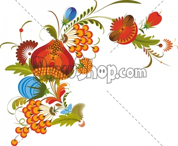Illustration clipart colourful flower Free the protection right watermark