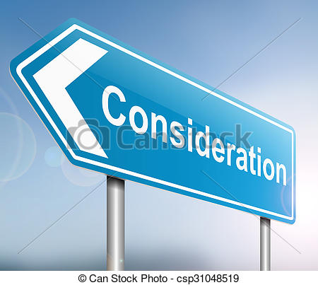 Illustration clipart consideration Concept Consideration depicting concept