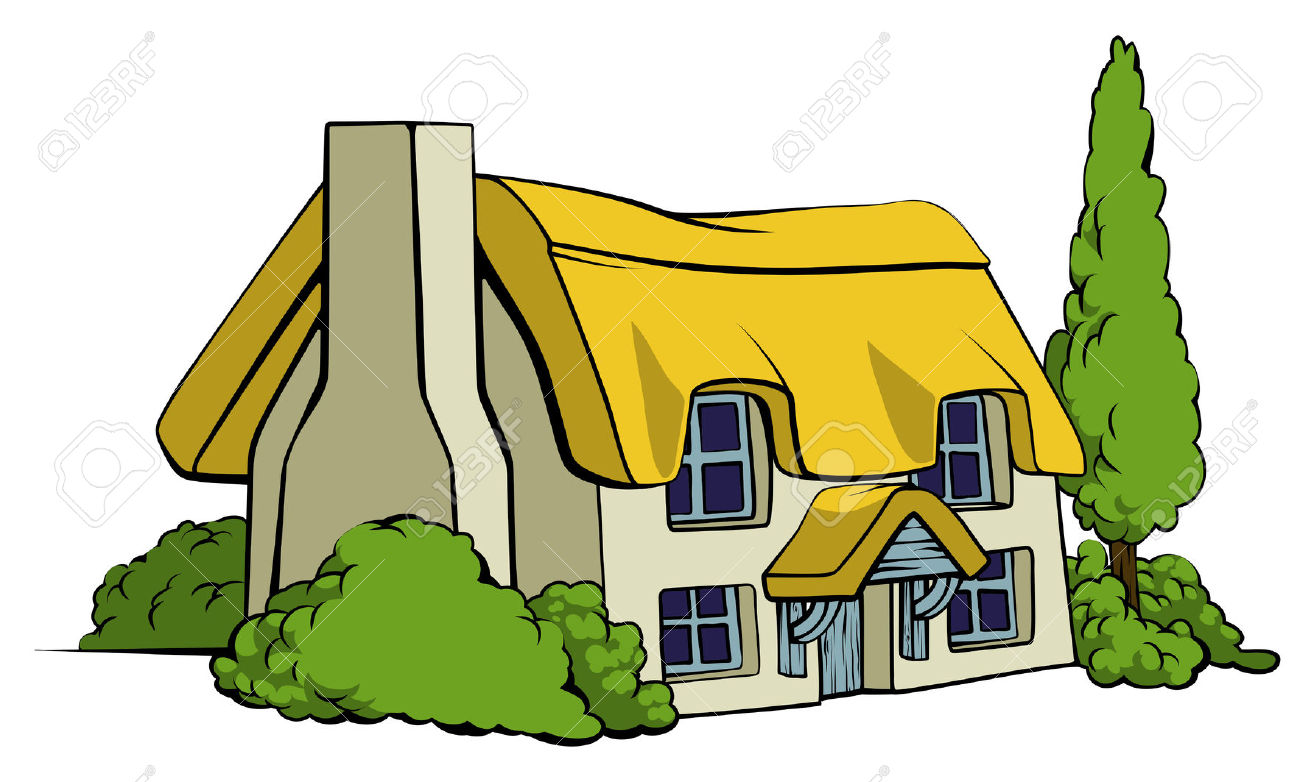 Illustration clipart country house Clip Art: Clip Country Country