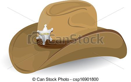 Illustration clipart cowboy Illustration Vector hat cowboy vector