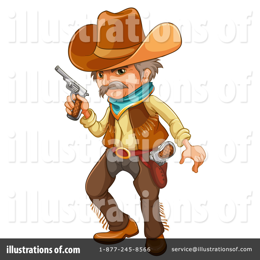 Illustration clipart cowboy #1234415 Royalty Cowboy colematt Free
